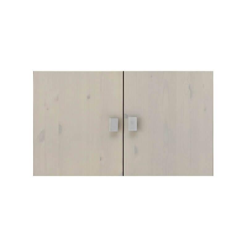 Lifetime Türenset klein für Regal greywash 8018-grey