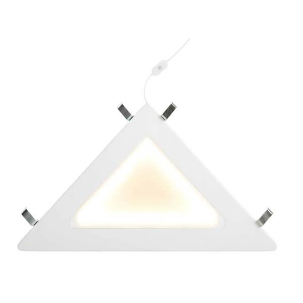 Lifetime Eckablage mit LED Licht weiss 8128 beleuchtet