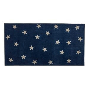 Lifetime Teppich Blue & Stars