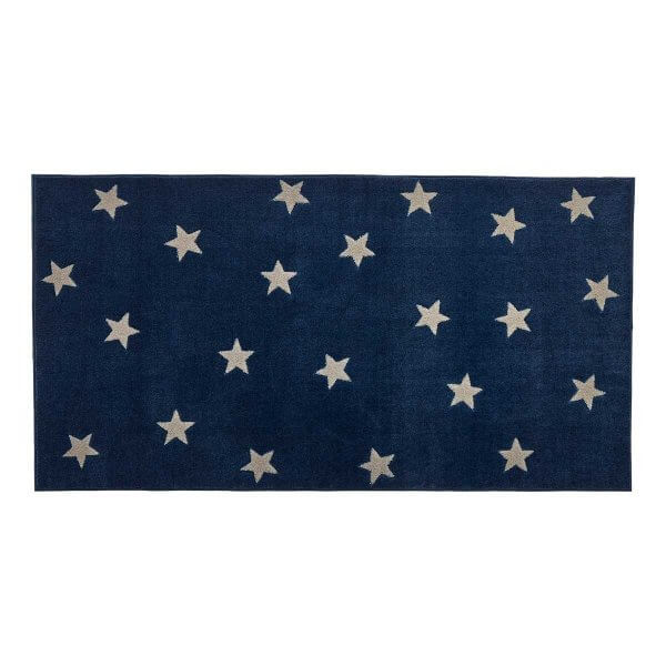 Lifetime Teppich Blue & Stars