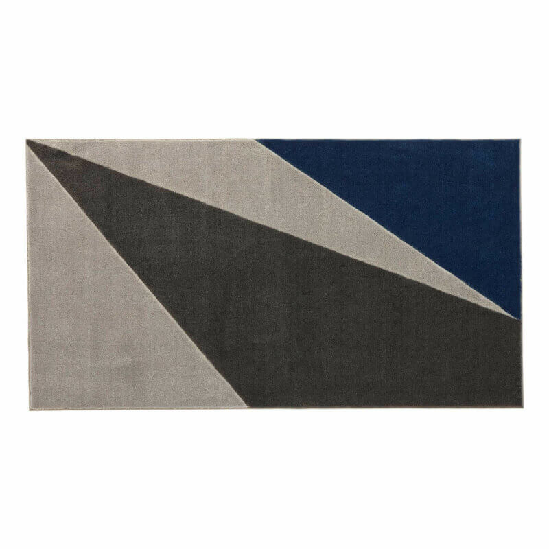 Lifetime Teppich grau wild, 3D Handcarving 8454-2