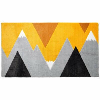 Lifetime Teppich Mountain Trip gelb 8466-1