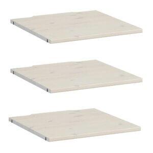 Lifetime 3x Boden für Schrank 50 cm whitewash 9531-01W