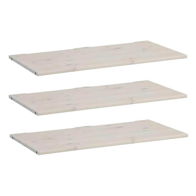 Lifetime 3x Boden für Schrank 100 cm whitewash 9532-01W