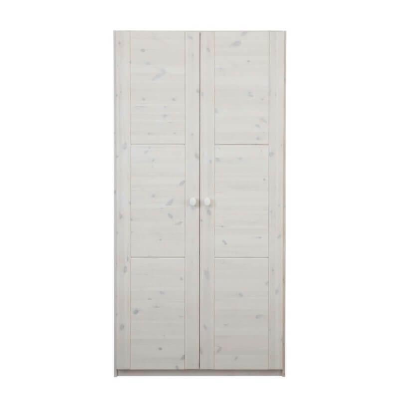 Lifetime Kleiderschrank 2-türig whitewash 96005-01W