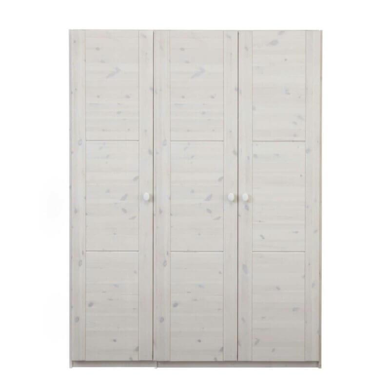 Lifetime Kleiderschrank 3-türig whitewash 97005-01W