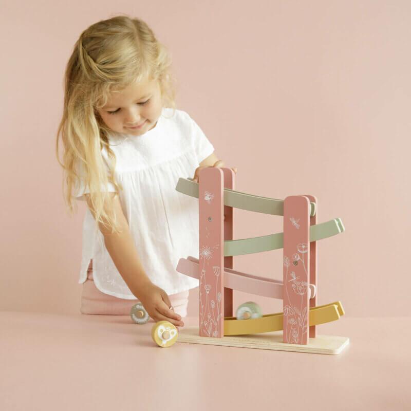 Little Dutch Rennbahn pink