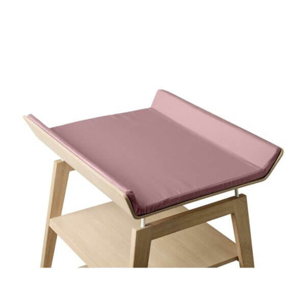 Leander Linea cover changing mat dusty rose_Web