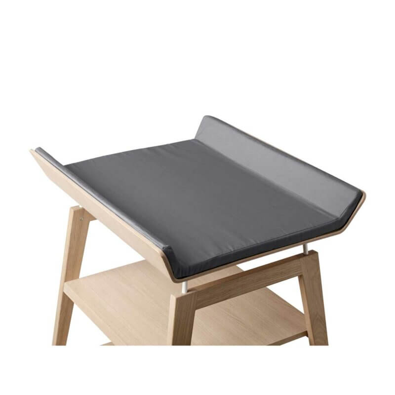 Leander Linea cover changing mat grey_Web