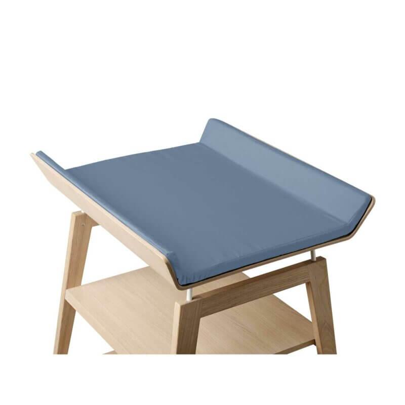 Leander Linea cover changing mat dusty blue_Web