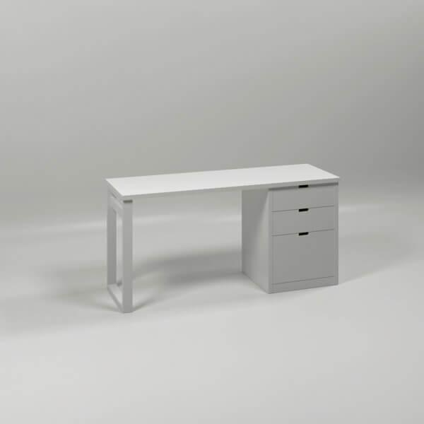 MUBA Schreibtisch mit Container