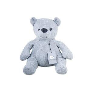 Baby`s Only - Bär 35cm Zopf grau