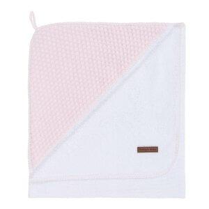 Baby`s Only Kapuzenbadetuch Sun 75 x 85cm klassisch rosa / baby rosa