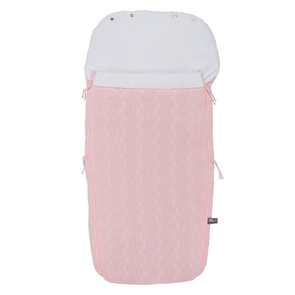 baby´s only Fusssack Buggy Zopf rosa