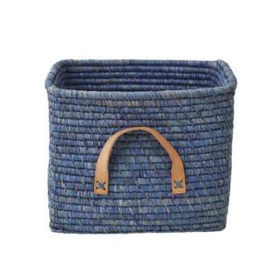 Rice Korb blau