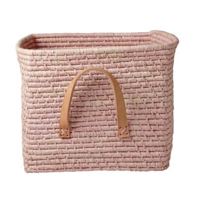Rice Korb soft pink