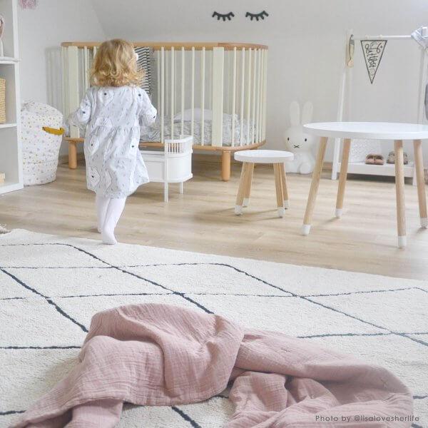 Lorena Canals Teppich Bereber beige