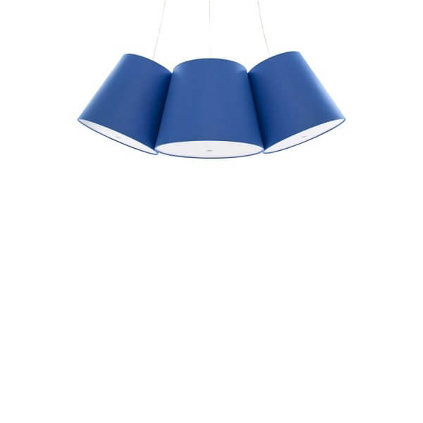 FRAUMAIER Cluster blau Bogenform