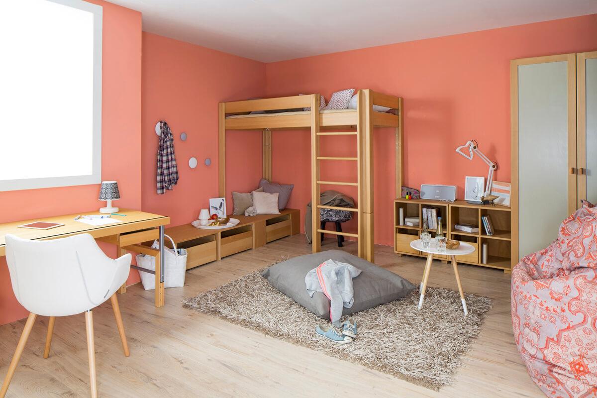 Jugendzimmer von de Breuyn DELUXE in Buche natur