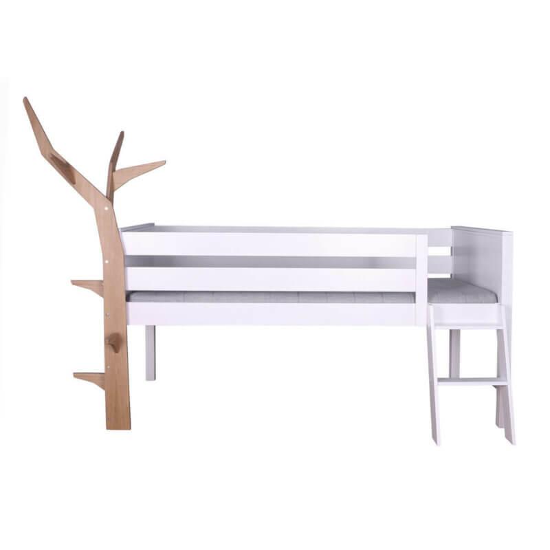 KASVA - halbhohes Bett mit Baum