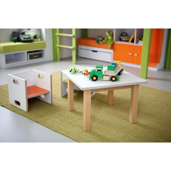Kindertisch 815 weiss Ambiente