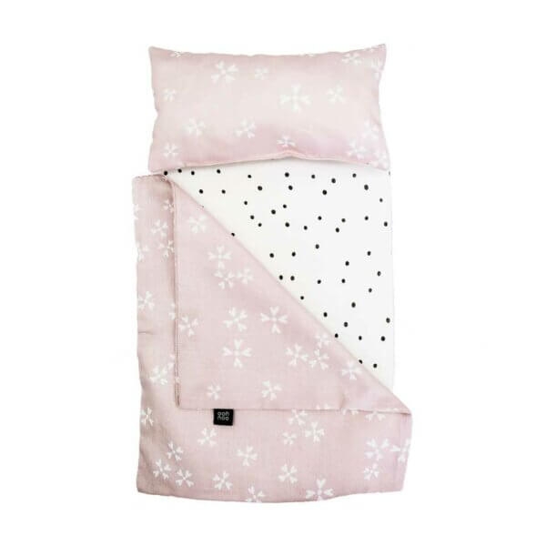 Ooh Noo Dolly Cot Bedding blushing blossom_Web