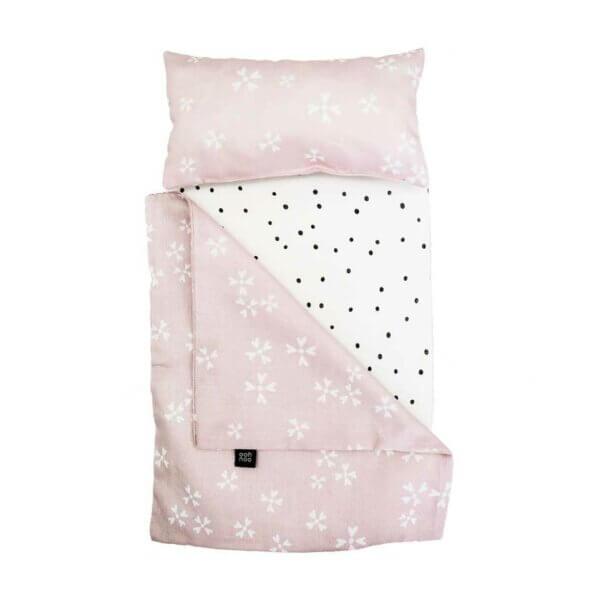 Ooh Noo Dolly Cot Bedding blushing blossom_Web