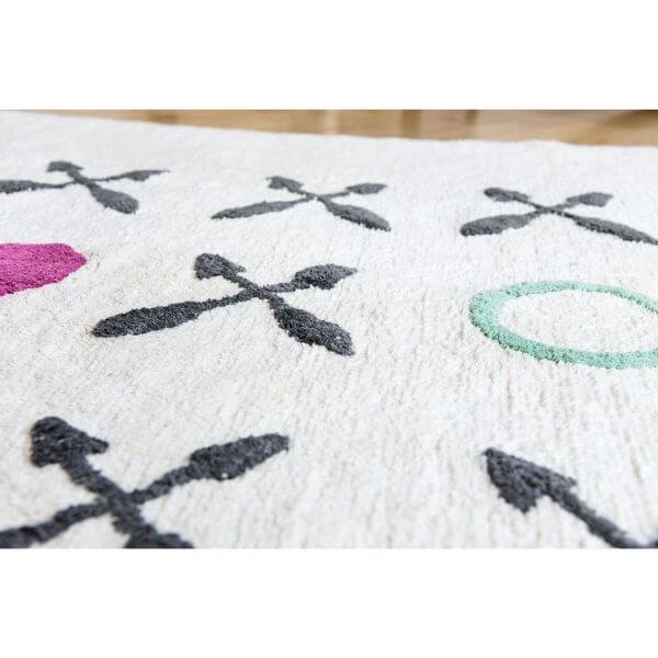 minividuals Teppich XOXO ecru