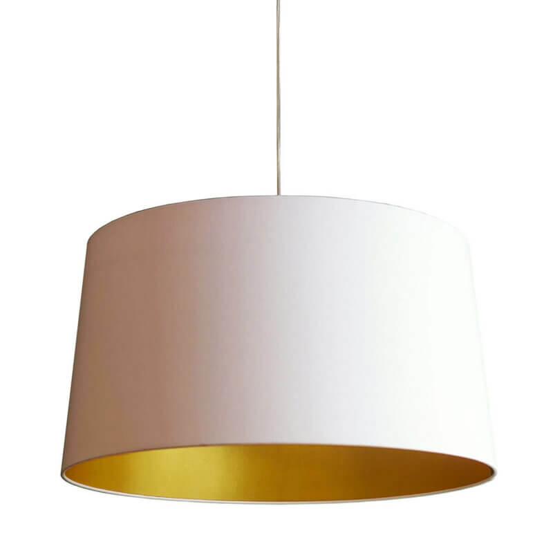 FRAUMAIER Leuchte Lea weiss/gold