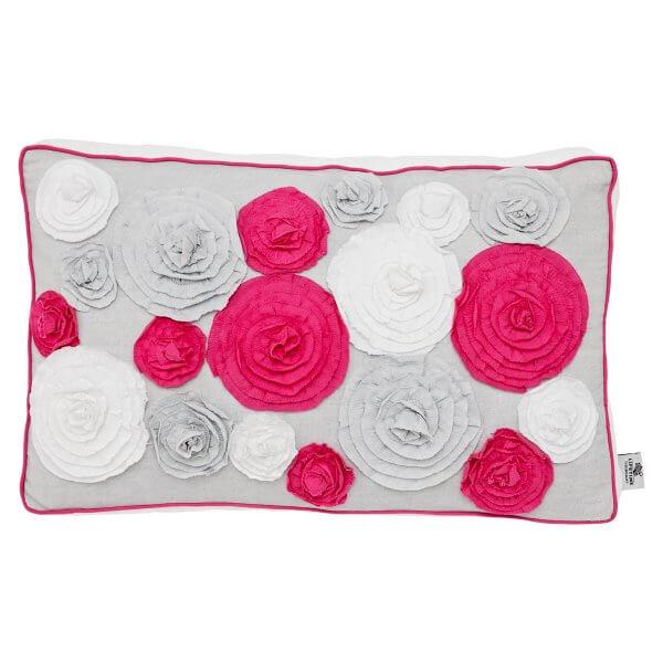 Lifetime Kissen Ibiza Bloom mit 16 Rosen rechteckig