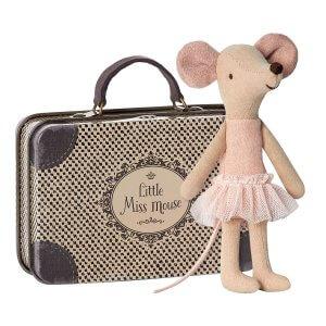 Maileg Maus Ballerina im Koffer