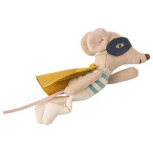 Maileg Maus Superheld im Koffer