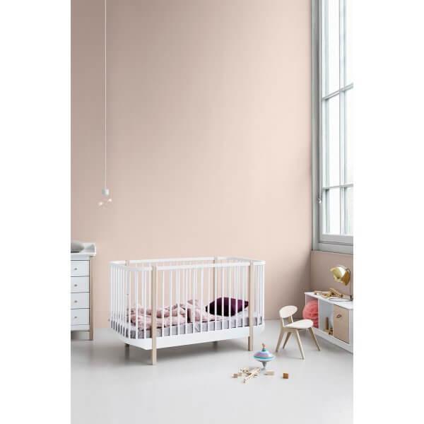 Baby- und Kinderbett Wood Eiche