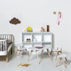 Oliver Furniture Hocker Pingpong