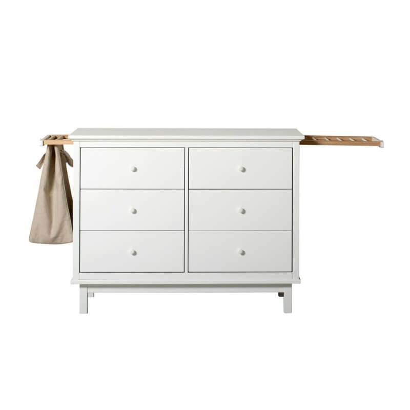 Oliver Furniture Kommode Seaside mit 6 Schubladen und 2 Auszügen