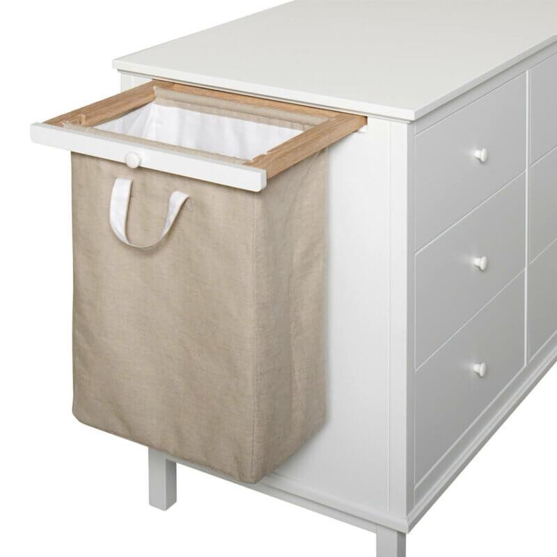Oliver Furniture Kommode mit 6 Schubladen, Auszug Wäschesack