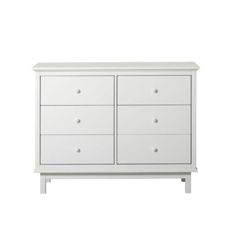Oliver Furniture Kommode Seaside mit 6 Schubladen