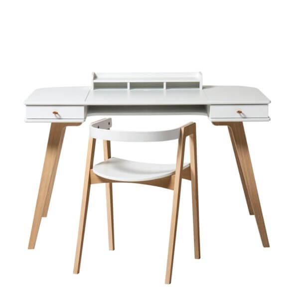 Oliver Furniture Schreibtisch Wood Schreibtisch & Armstuhl