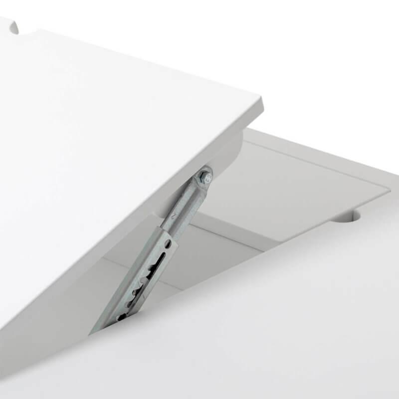 Oliver Furniture Schreibtisch Wood Tischplatte höhenverstellbar