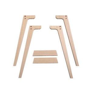 Oliver Furniture Extra Tischbeinset Wood für Tischhöhe 72,6 cm