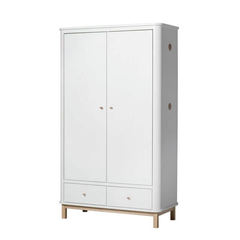 Oliver furniture Kleiderschrank Wood Eiche 2-türig