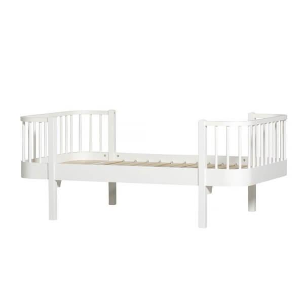 Oliver Furniture Juniorbett Wood weiss