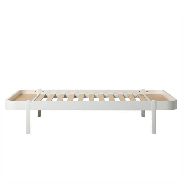 Oliver Furniture Wood Lounger 120, Füsse weiss