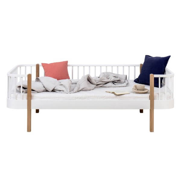Oliver Furniture Bettsofa Wood Eiche