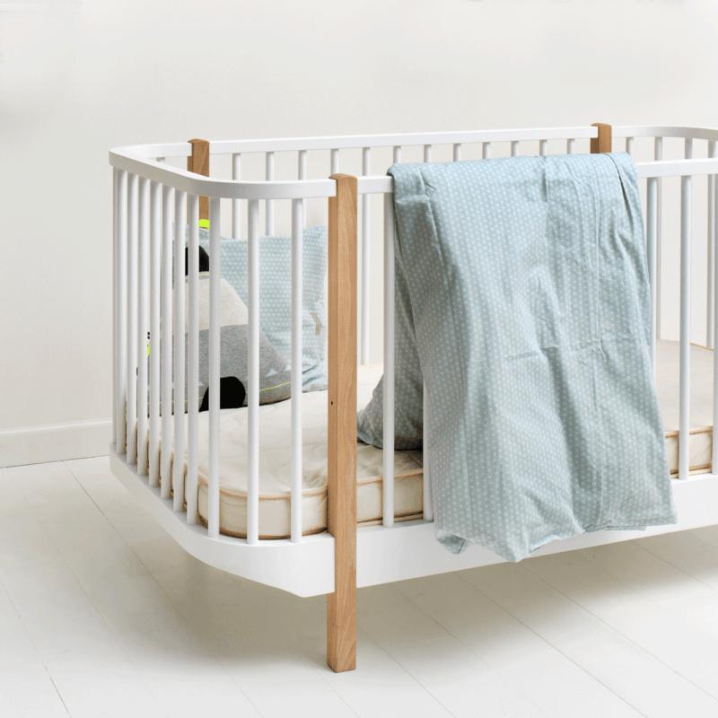 Oliver Furniture Kinder und Babybett Wood Eiche