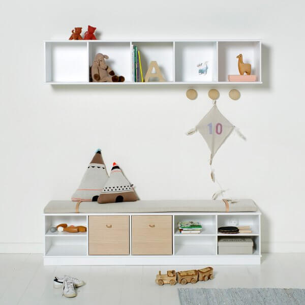 Oliver Furniture Regal 5x1 Wood