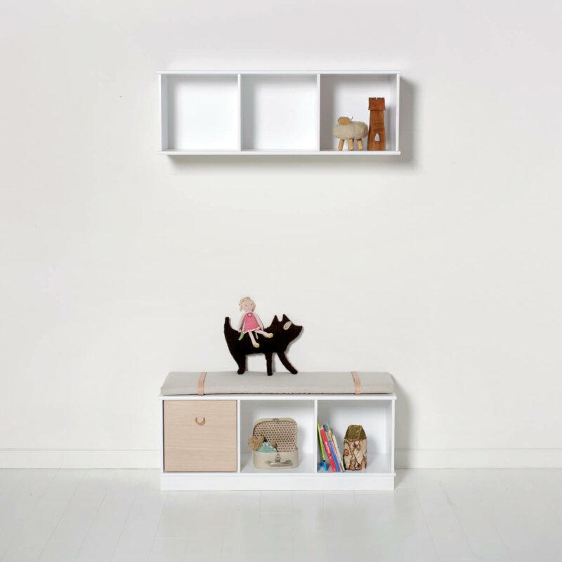 Oliver Furniture Regal 3x1 Wood