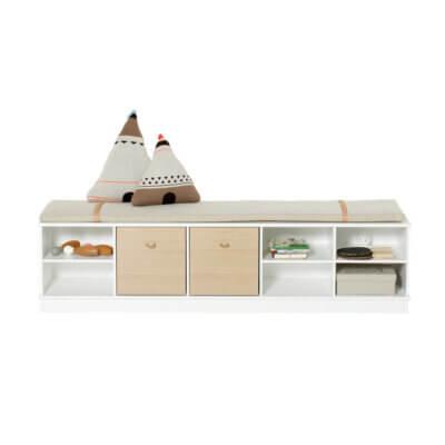 Oliver Furniture Regal 5x1 Wood mit Sockel