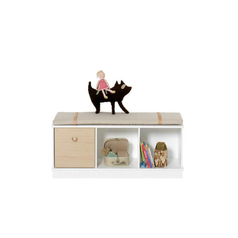 Oliver Furniture Regal 3x1 Wood mit Sockel
