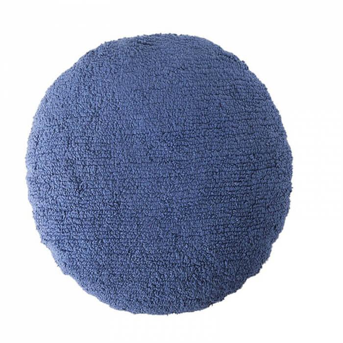 Lorena Canals grosses Kissen Punkt dunkelblau